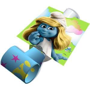 SMURFS Smurfette Blowouts Birthday Party Favors 726528286831