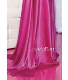 Multi Color Charmeuse Halter Beaded Formal Ball Party Gown Prom