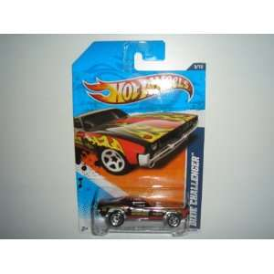 2011 Hot Wheels Dixie Challenger Black #165/244 Toys