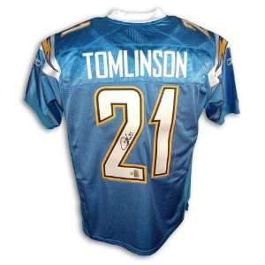 LaDainian Tomlinson San Diego Chargers Autographed Powder Blue Reebok