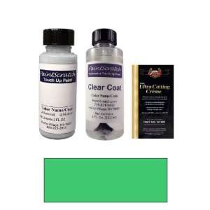 Oz. Laguna Green Metallic Paint Bottle Kit for 2001 Mercedes Benz