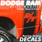 Dodge Ram Truck Decal Decals Stripe Stripes R/T Bed Graphics