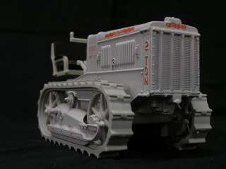 This is a Caterpillar 2 Ton Track Type Tractor 1/16 Scale Diecast by