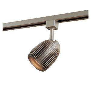 Hampton Bay Linear Track Head Brushed Steel Metal Shade EC4187BA at