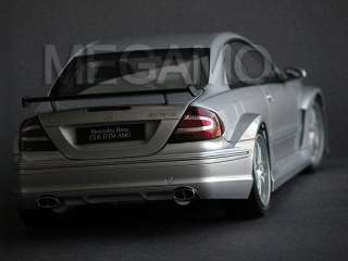 18 Kyosho Mercedes Benz CLK DTM AMG Coupe Silver