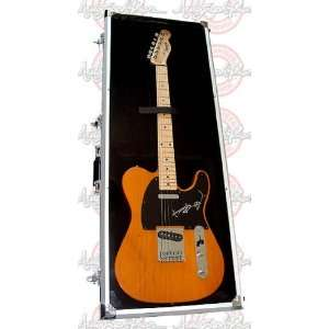 STONES Keith Richards Signed FENDER TELE Guitar Musical Instruments