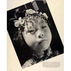 1938 Print San Francisco Catholic Chinese Virginia Hall Child Typical