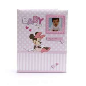 Disney Minnie Mouse Baby Girl Keepsake Record Memory Book Baby