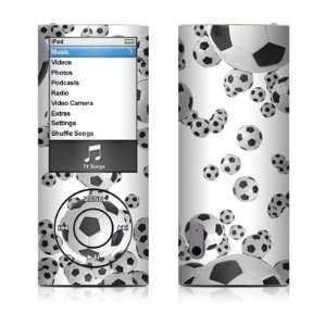 Lots of Soccer Balls Design Decal Sticker for Apple iPod