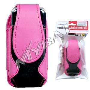 High Quality Hot Pink and Black Vertical Stylish Carry