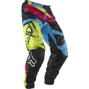 Fox Racing Kids Green/Blue 180 Undertow Pants Sports