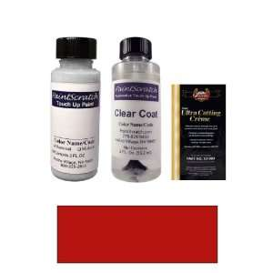 2 Oz. Calypso Red Paint Bottle Kit for 1981 Lotus All
