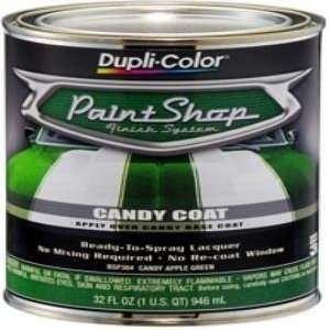 Dupli Color BSP304 Candy Apple Green Paint Shop Finish System   32 oz.