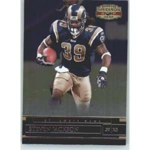Donruss Gridiron Gear #42 Steven Jackson   St. Louis Rams (Football