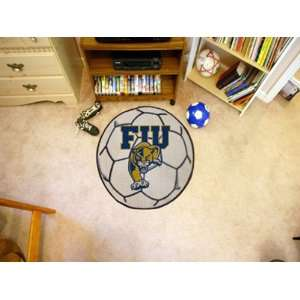 Florida International Univ Round Soccer Ball Rug Round 2.40