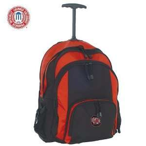 Mercury Luggage South Carolina Gamecocks Red & Black