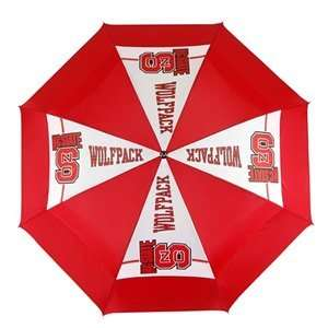 Carolina State Wolf Pack College NCAA Logo Windsheer II Golf Umbrella