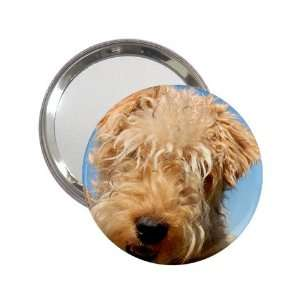 terrier Puppy Dog Handbag Makeup Mirror K0716