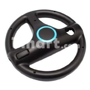 Remote Mario Kart Racing Wheel Controller with Motion Plus for Wii