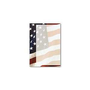 Masterpiece Old Glory Flat Card   5 1/2 X 7 3/4   20 Flatcards / 20