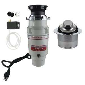 WasteMaster 1/3 HP Disposal with Chrome Air Switch/Flange