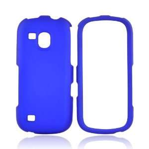 For Samsung Continuum Rubberized Hard Case Cover BLUE