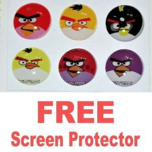 Ec00079k Angry Birds Home Button Sticker for Apple Ipad