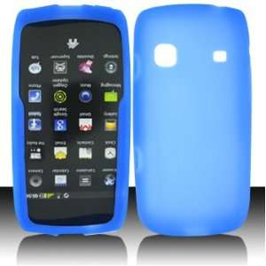 For Sprint Samsung Replenish M580 Accessory   Blue Silicon