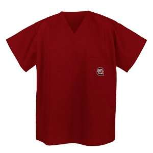 South Carolina Gamecocks Logo Scrub Shirt XL