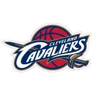 Cleveland Cavaliers Team Auto Window Decal (12 x 10  inch