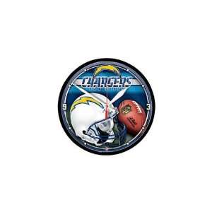 San Diego Chargers NFL Wall Clock