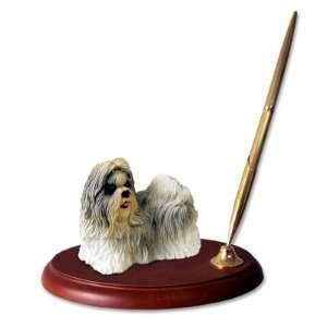Shih Tzu Dog Desk Set   Mixed Color