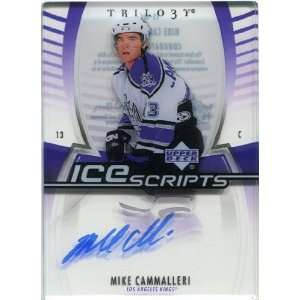 2006/07 Upper Deck Trilogy Ice Scripts #ISMC Mike