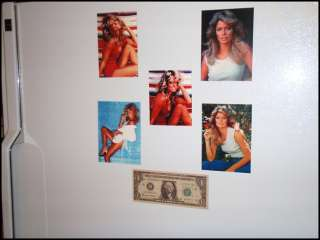 Fridge Fun Refrigerator Magnet FARRAH FAWCETT Vintage Swimsuit