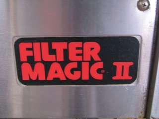 Frymaster Filter Magic II (2) Double Deep Fat Fryer FMH250BLSC, Gas