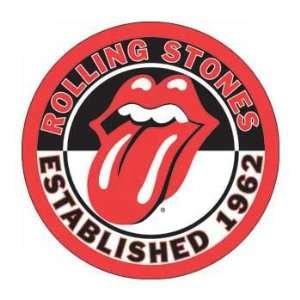 Rolling Stones   1962 Tongue Button Magnet