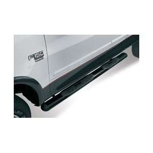 Westin 22 0005 Oval Tube Nerf Bars   Black, for the 2002