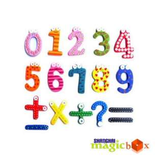 Set 15 Number Math Symbol Refrigerator Fridge Magnets