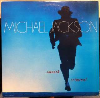 MICHAEL JACKSON smooth criminal 12 Mint  49 07895 Vinyl 1987 Record